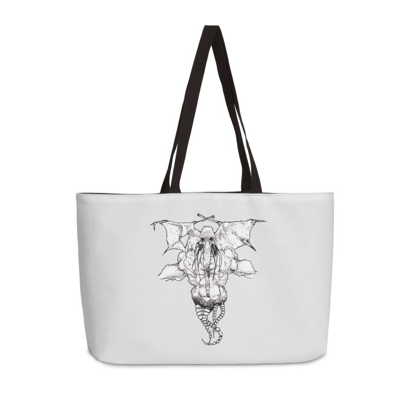 The Memory of an Elephant Accessories Weekender Bag Bag by Katiecrimespree's Ye Olde Shirt Shoppe