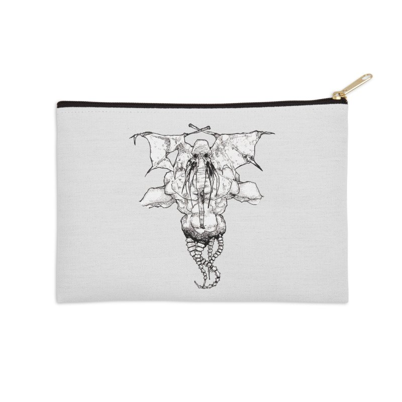 The Memory of an Elephant Accessories Zip Pouch by Katiecrimespree's Ye Olde Shirt Shoppe