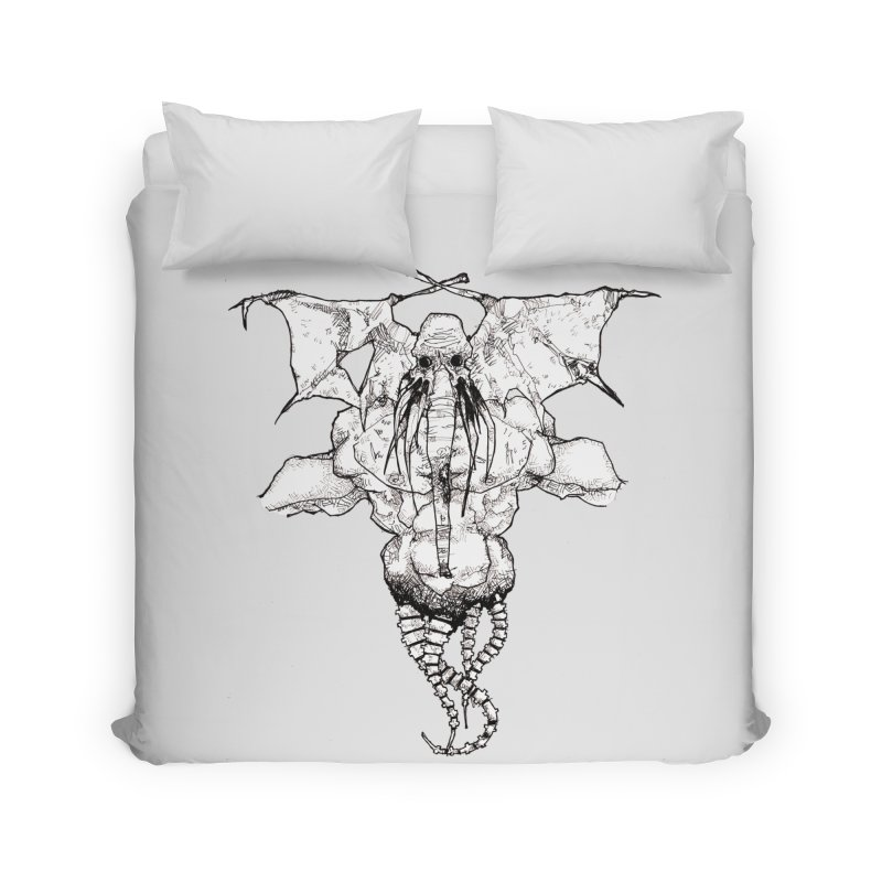 The Memory of an Elephant Home Duvet by Katiecrimespree's Ye Olde Shirt Shoppe