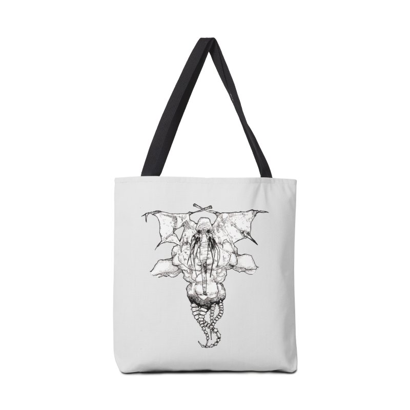 The Memory of an Elephant Accessories Bag by Katiecrimespree's Ye Olde Shirt Shoppe