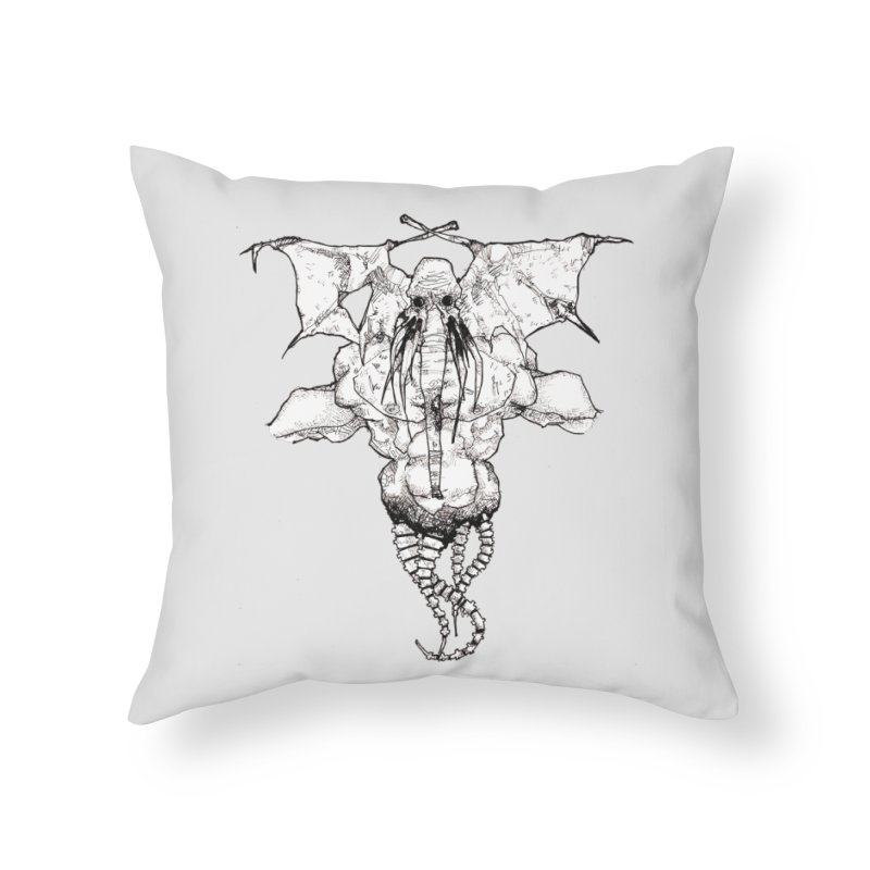 The Memory of an Elephant Home Throw Pillow by Katiecrimespree's Ye Olde Shirt Shoppe