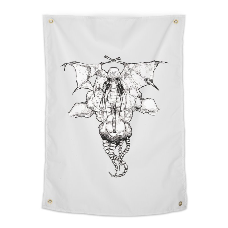 The Memory of an Elephant Home Tapestry by Katiecrimespree's Ye Olde Shirt Shoppe
