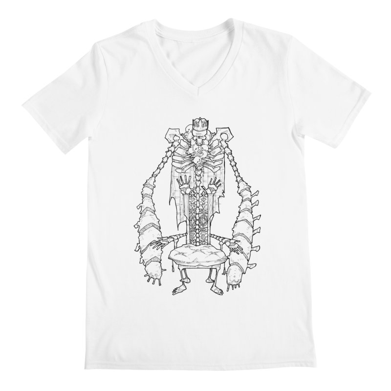 Your Throne. Men's V-Neck by Katiecrimespree's Ye Olde Shirt Shoppe