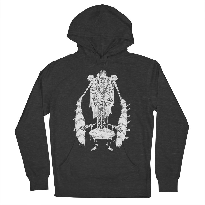 Your Throne. Women's French Terry Pullover Hoody by Katiecrimespree's Ye Olde Shirt Shoppe