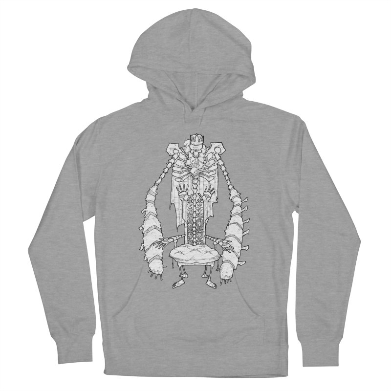 Your Throne. Men's French Terry Pullover Hoody by Katiecrimespree's Ye Olde Shirt Shoppe