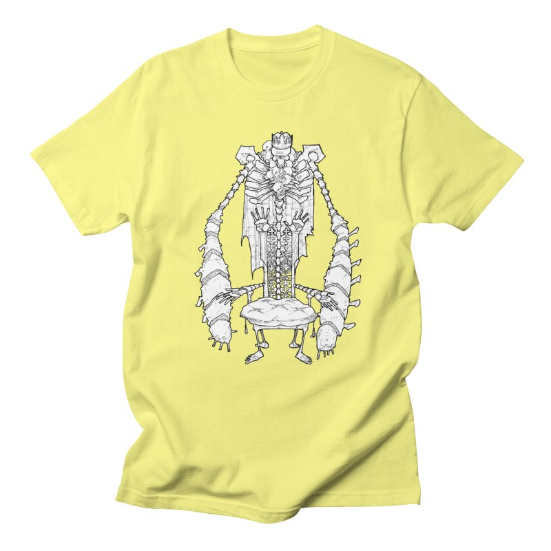 Your Throne. Men's Regular T-Shirt by Katiecrimespree's Ye Olde Shirt Shoppe