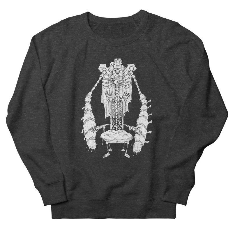 Your Throne. Men's French Terry Sweatshirt by Katiecrimespree's Ye Olde Shirt Shoppe