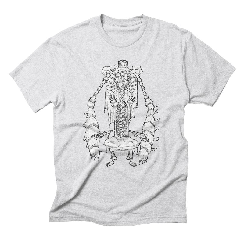 Your Throne. Men's Triblend T-Shirt by Katiecrimespree's Ye Olde Shirt Shoppe