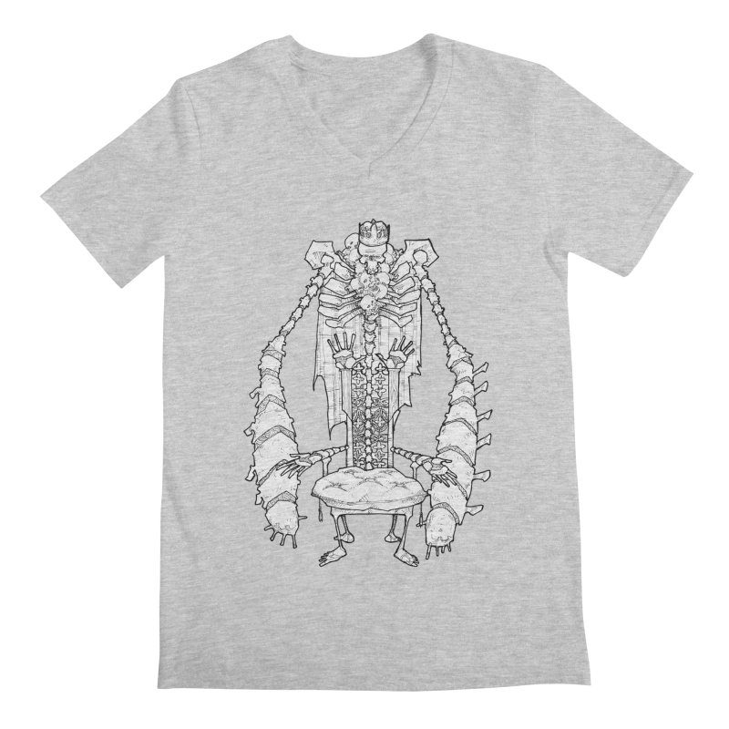 Your Throne. Men's  by Katiecrimespree's Ye Olde Shirt Shoppe