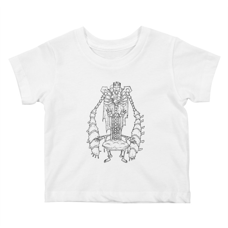 Your Throne. Kids Baby T-Shirt by Katiecrimespree's Ye Olde Shirt Shoppe