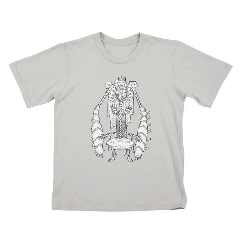 Your Throne. Kids T-Shirt by Katiecrimespree's Ye Olde Shirt Shoppe