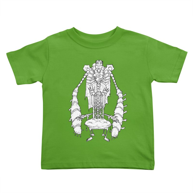 Your Throne. Kids Toddler T-Shirt by Katiecrimespree's Ye Olde Shirt Shoppe