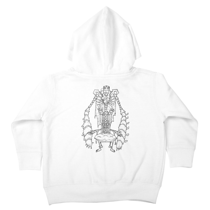 Your Throne. Kids Toddler Zip-Up Hoody by Katiecrimespree's Ye Olde Shirt Shoppe