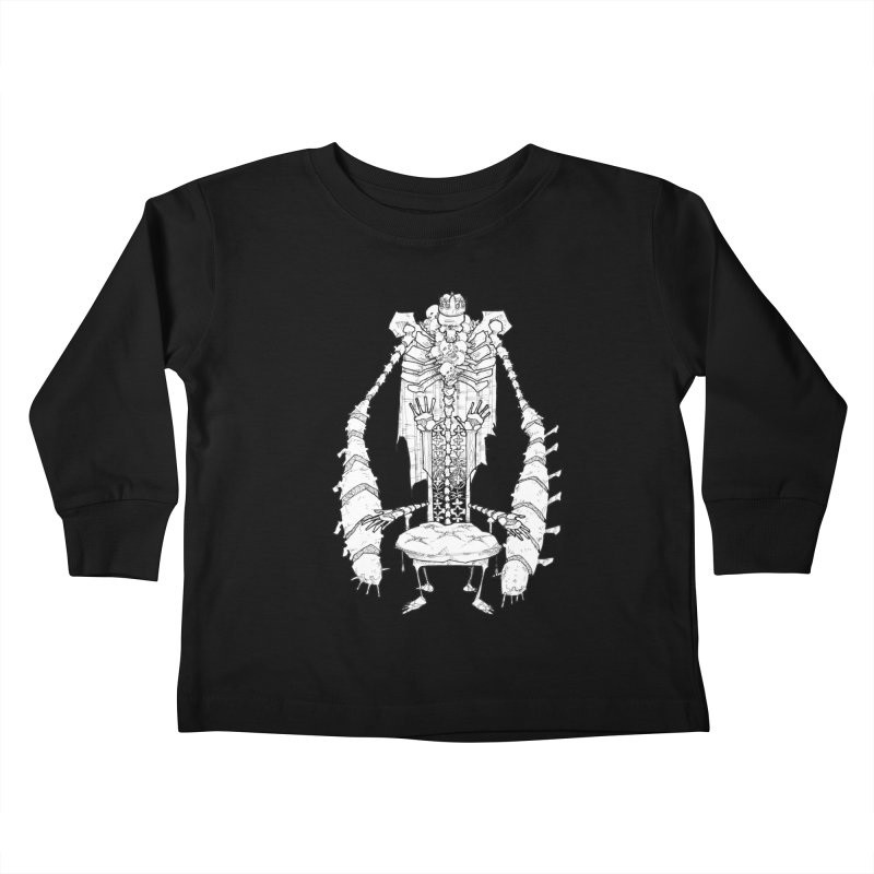 Your Throne. Kids Toddler Longsleeve T-Shirt by Katiecrimespree's Ye Olde Shirt Shoppe