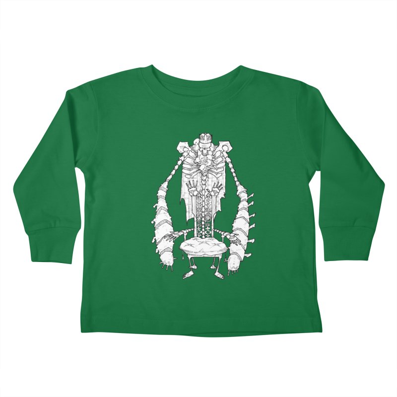 Your Throne. Kids Toddler Longsleeve T-Shirt by Katiecrimespree's Ye Olde Shirt Shoppe