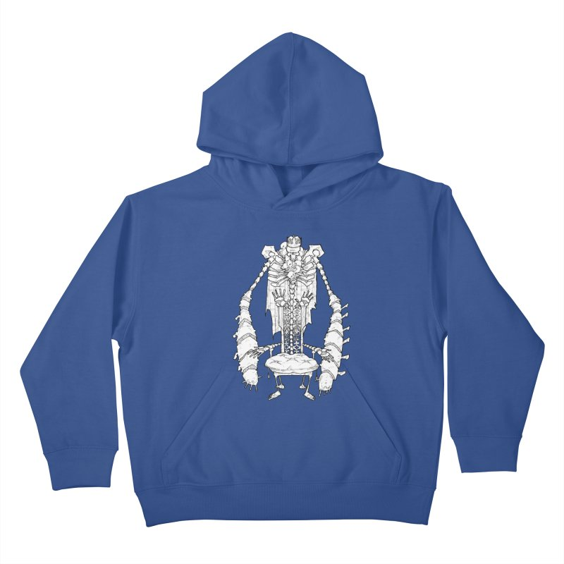 Your Throne. Kids Pullover Hoody by Katiecrimespree's Ye Olde Shirt Shoppe