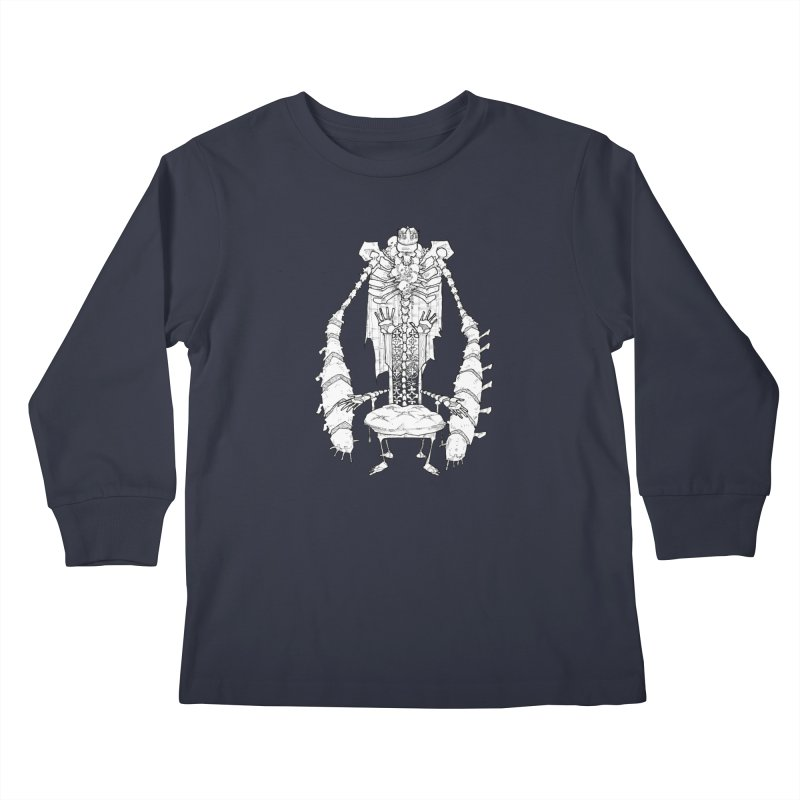Your Throne. Kids Longsleeve T-Shirt by Katiecrimespree's Ye Olde Shirt Shoppe