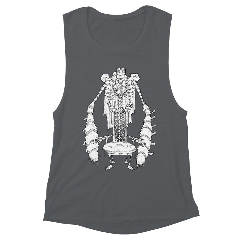 Your Throne. Women's Muscle Tank by Katiecrimespree's Ye Olde Shirt Shoppe
