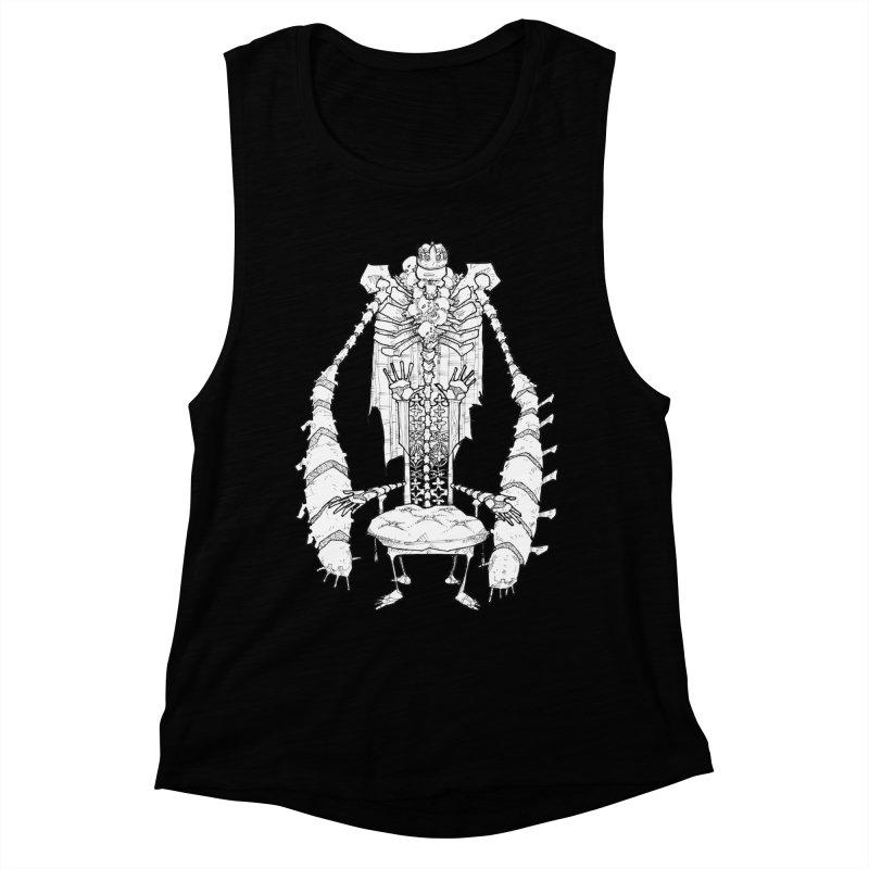 Your Throne. Women's Muscle Tank by Katiecrimespree's Ye Olde Shirt Shoppe