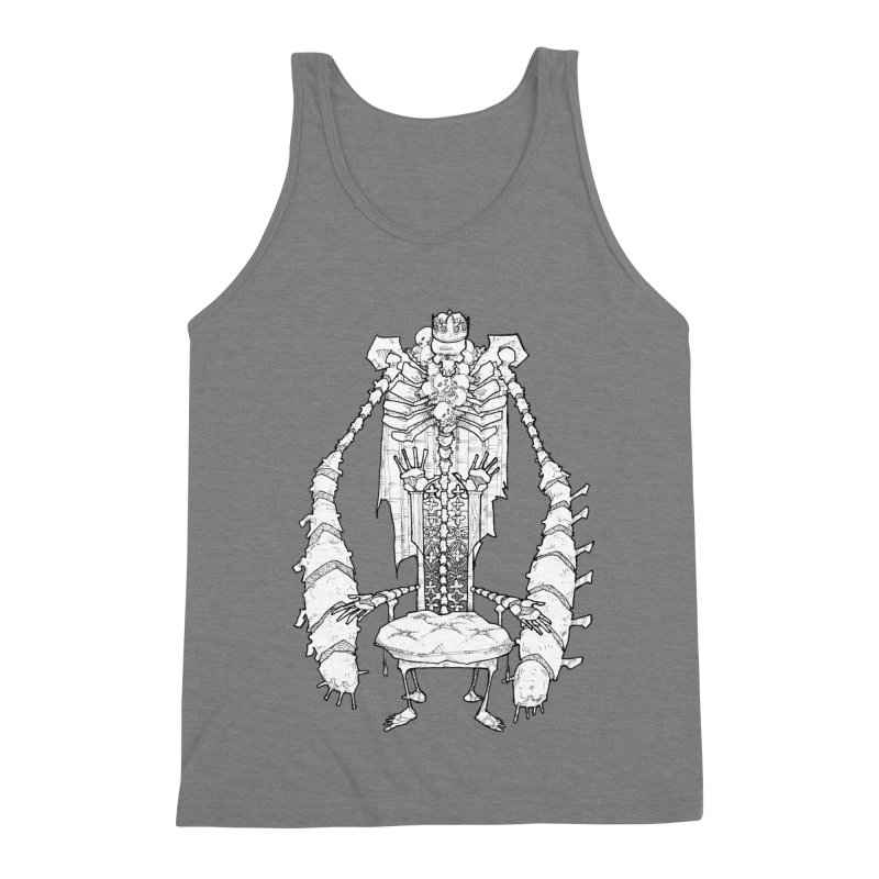 Your Throne. Men's Triblend Tank by Katiecrimespree's Ye Olde Shirt Shoppe