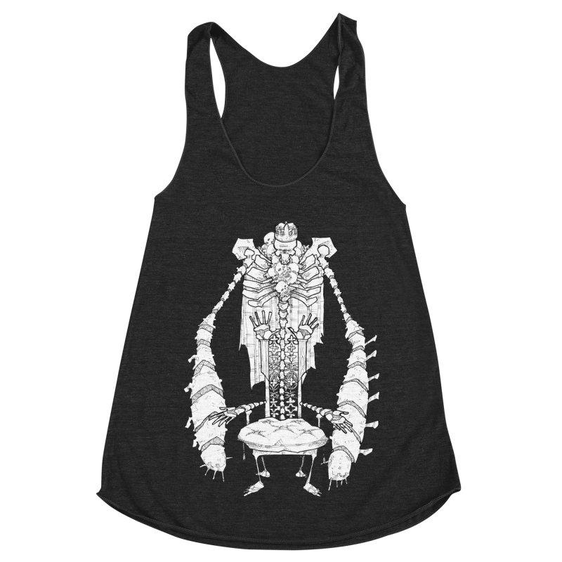 Your Throne. Women's Racerback Triblend Tank by Katiecrimespree's Ye Olde Shirt Shoppe