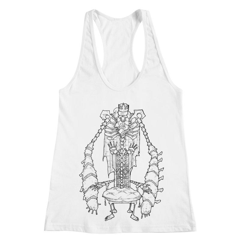 Your Throne. Women's Racerback Tank by Katiecrimespree's Ye Olde Shirt Shoppe