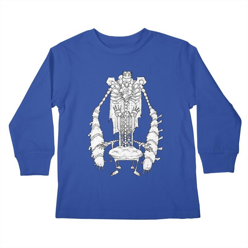 Your Throne. Kids Longsleeve T-Shirt by Katiecrimespree's Ye Olde Shirt Shoppe
