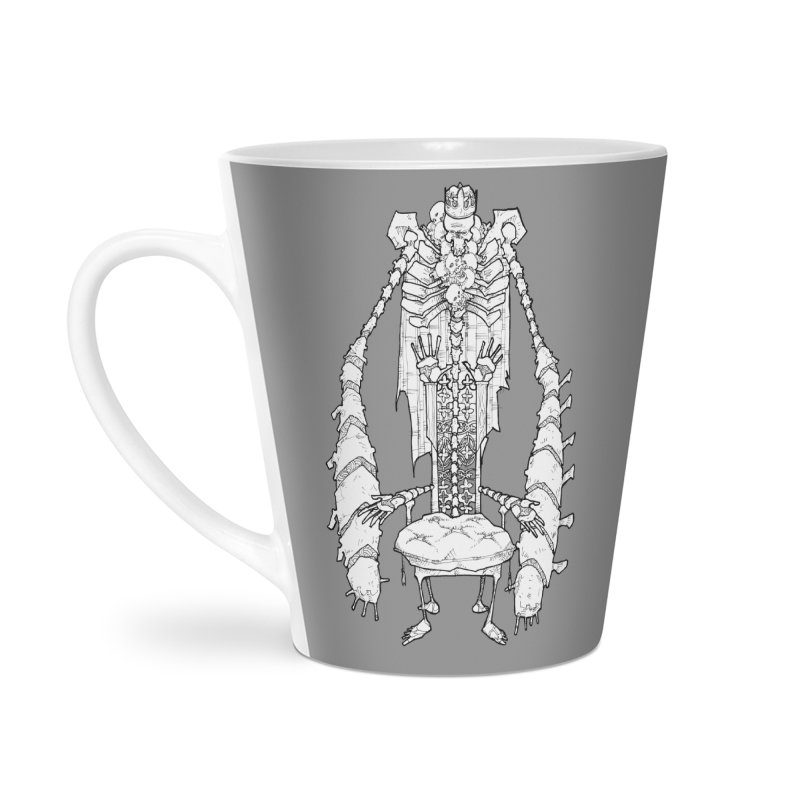 Your Throne. Accessories Latte Mug by Katiecrimespree's Ye Olde Shirt Shoppe