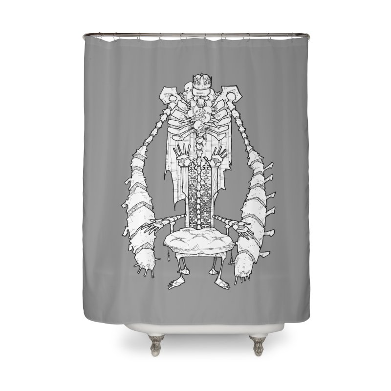 Your Throne. Home Shower Curtain by Katiecrimespree's Ye Olde Shirt Shoppe