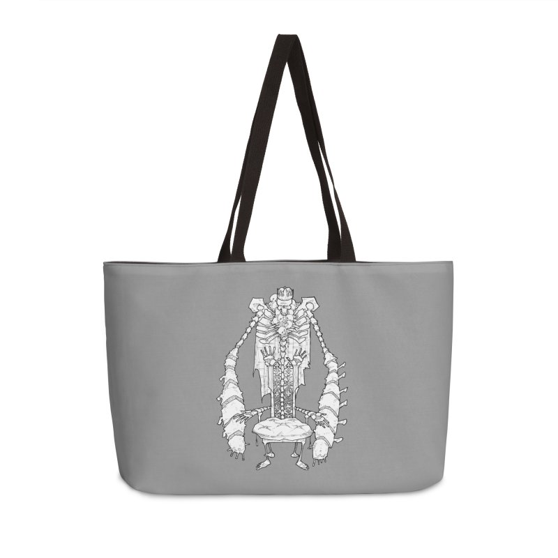Your Throne. Accessories Weekender Bag Bag by Katiecrimespree's Ye Olde Shirt Shoppe