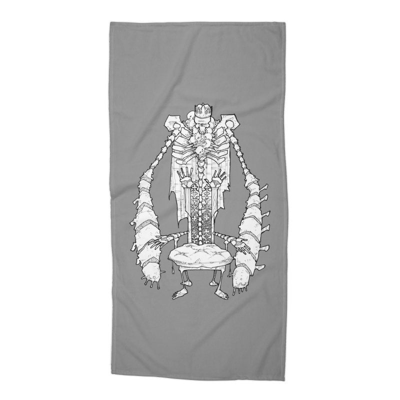 Your Throne. Accessories Beach Towel by Katiecrimespree's Ye Olde Shirt Shoppe