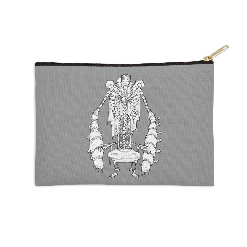 Your Throne. Accessories Zip Pouch by Katiecrimespree's Ye Olde Shirt Shoppe