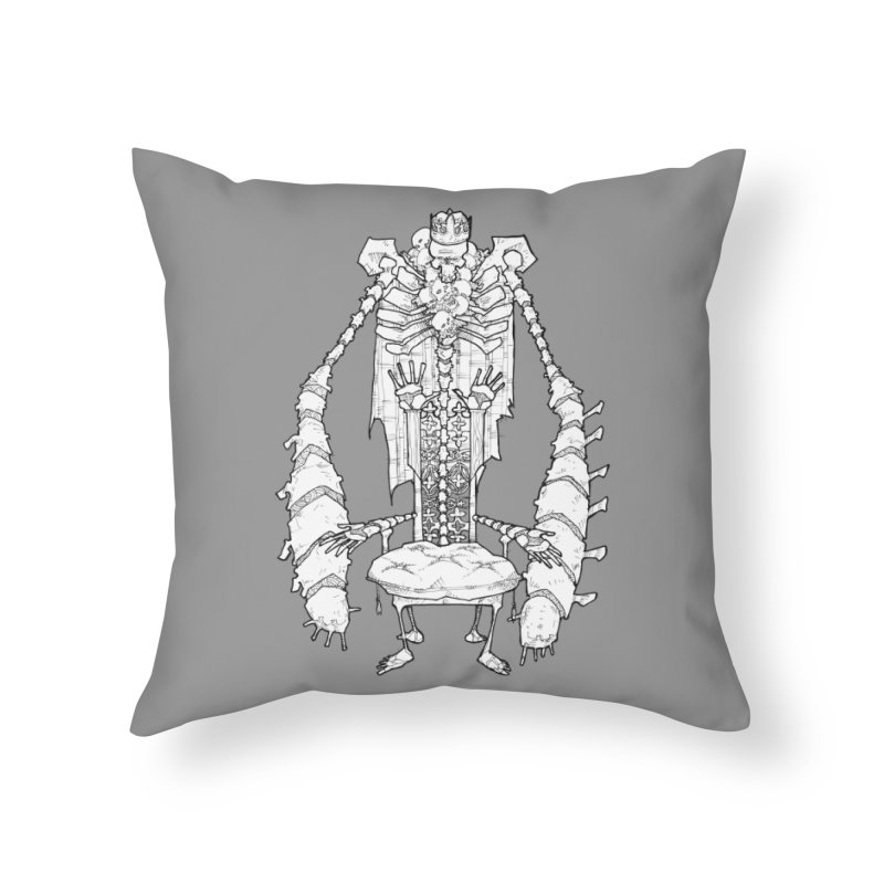 Your Throne. Home Throw Pillow by Katiecrimespree's Ye Olde Shirt Shoppe