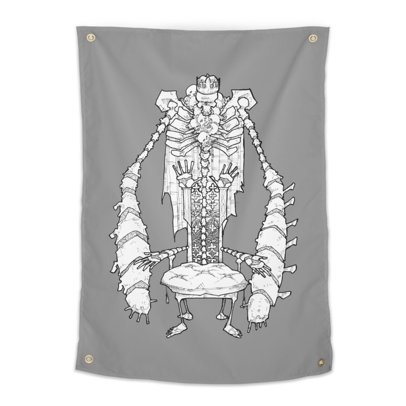 Your Throne. Home Tapestry by Katiecrimespree's Ye Olde Shirt Shoppe