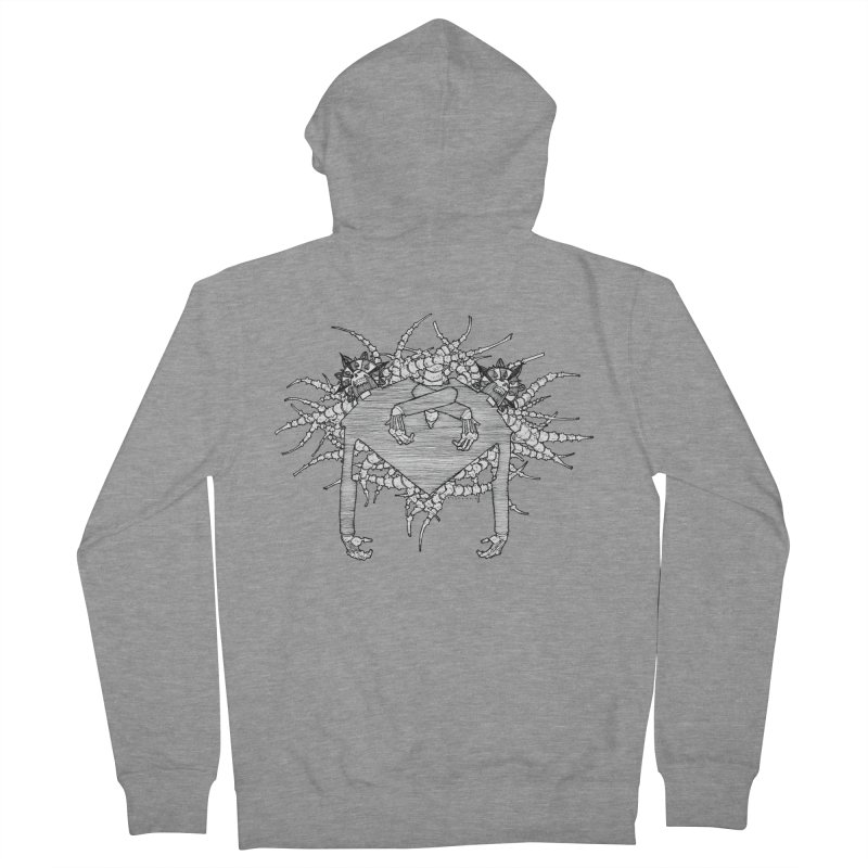 Rorschach Women's Zip-Up Hoody by Katiecrimespree's Ye Olde Shirt Shoppe