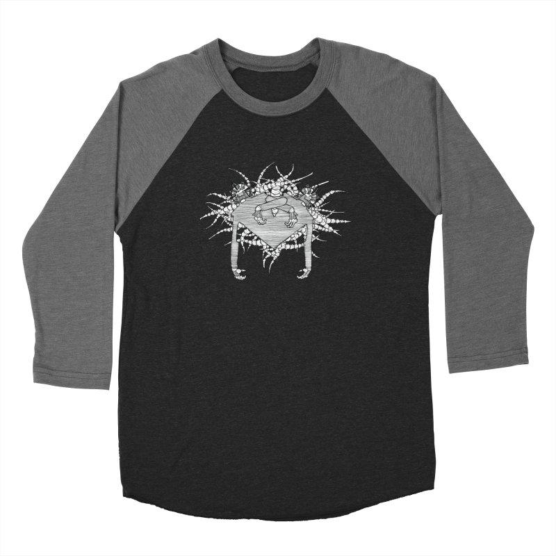Rorschach Women's Baseball Triblend Longsleeve T-Shirt by Katiecrimespree's Ye Olde Shirt Shoppe
