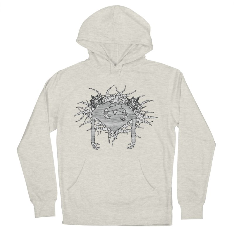 Rorschach Men's French Terry Pullover Hoody by Katiecrimespree's Ye Olde Shirt Shoppe