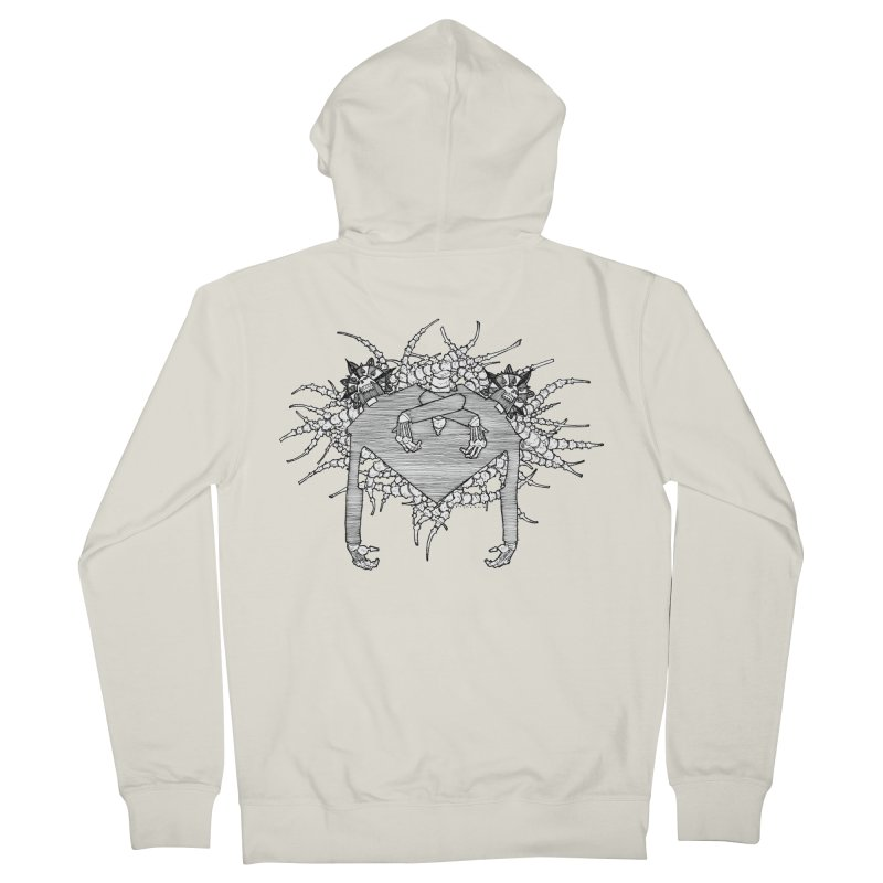 Rorschach Men's Zip-Up Hoody by Katiecrimespree's Ye Olde Shirt Shoppe