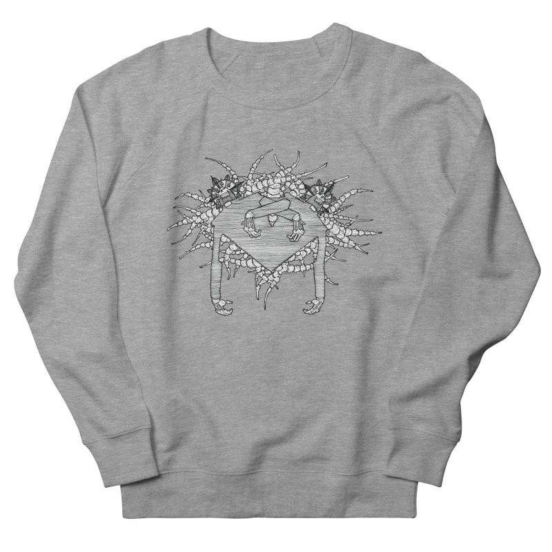 Rorschach Men's French Terry Sweatshirt by Katiecrimespree's Ye Olde Shirt Shoppe