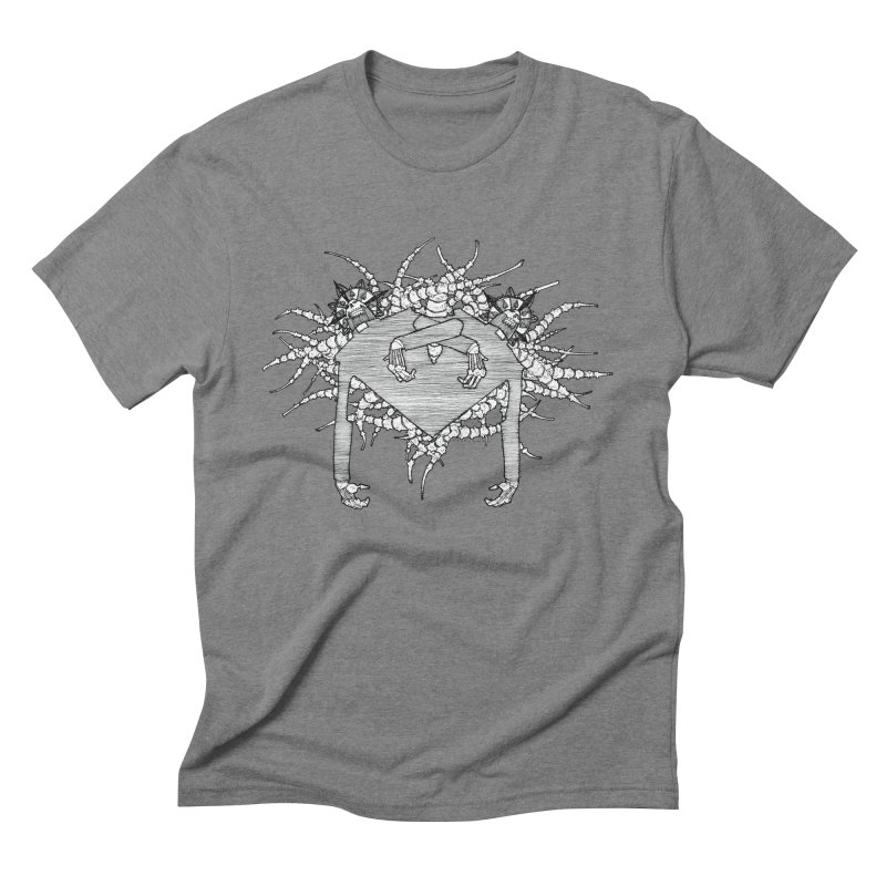 Rorschach Men's Triblend T-Shirt by Katiecrimespree's Ye Olde Shirt Shoppe