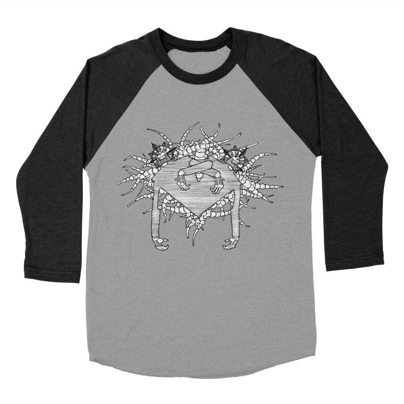 Rorschach Men's Baseball Triblend T-Shirt by Katiecrimespree's Ye Olde Shirt Shoppe