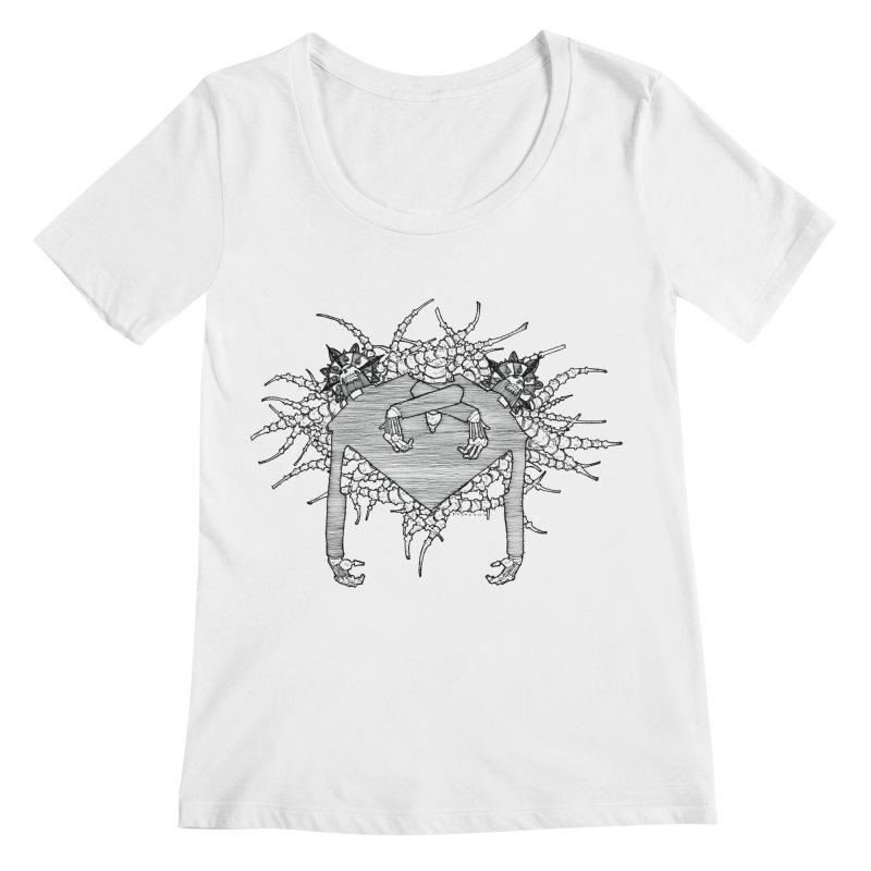 Rorschach Women's Regular Scoop Neck by Katiecrimespree's Ye Olde Shirt Shoppe