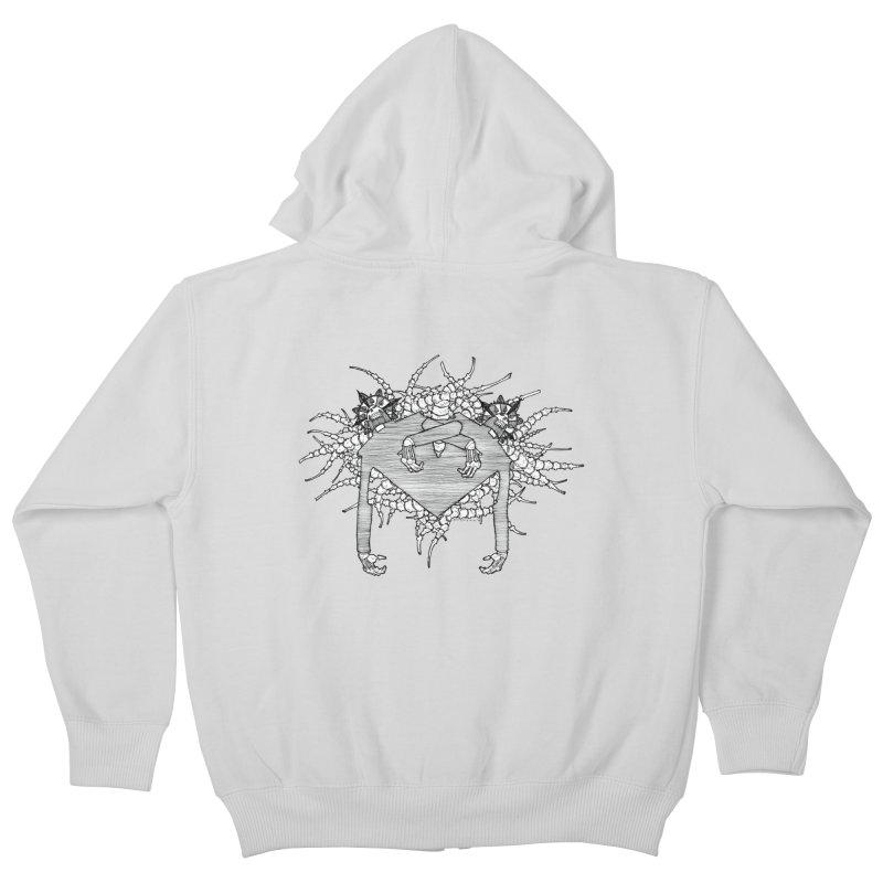 Rorschach Kids Zip-Up Hoody by Katiecrimespree's Ye Olde Shirt Shoppe