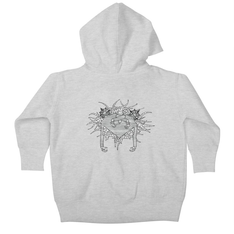 Rorschach Kids Baby Zip-Up Hoody by Katiecrimespree's Ye Olde Shirt Shoppe