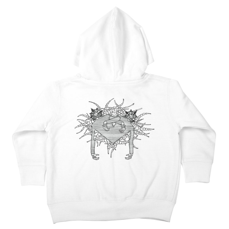 Rorschach Kids Toddler Zip-Up Hoody by Katiecrimespree's Ye Olde Shirt Shoppe
