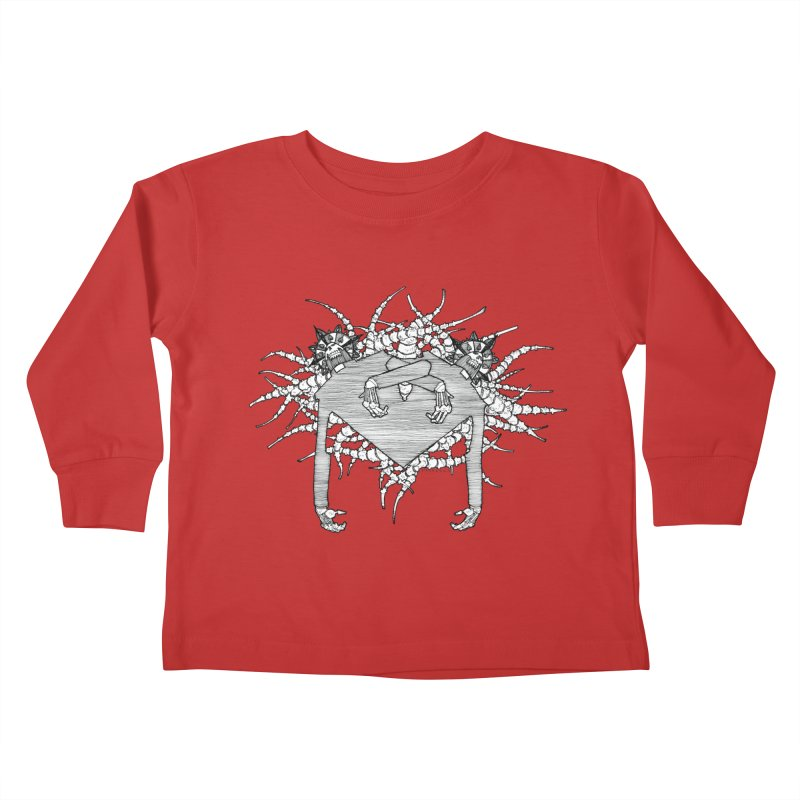 Rorschach Kids Toddler Longsleeve T-Shirt by Katiecrimespree's Ye Olde Shirt Shoppe