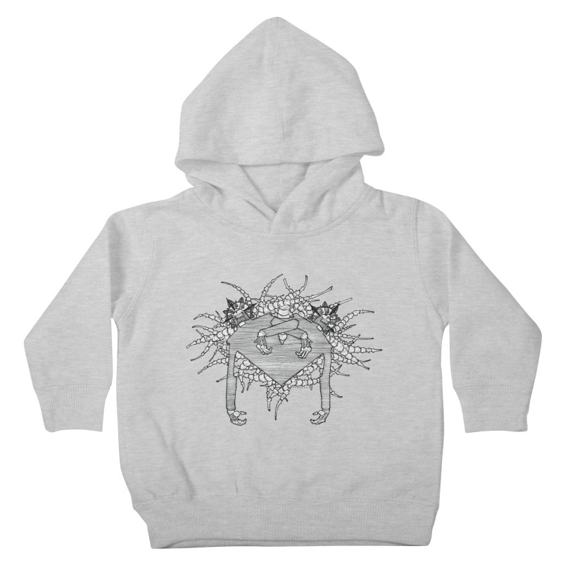 Rorschach Kids Toddler Pullover Hoody by Katiecrimespree's Ye Olde Shirt Shoppe