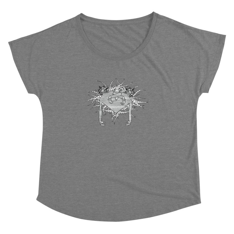 Rorschach Women's Dolman by Katiecrimespree's Ye Olde Shirt Shoppe