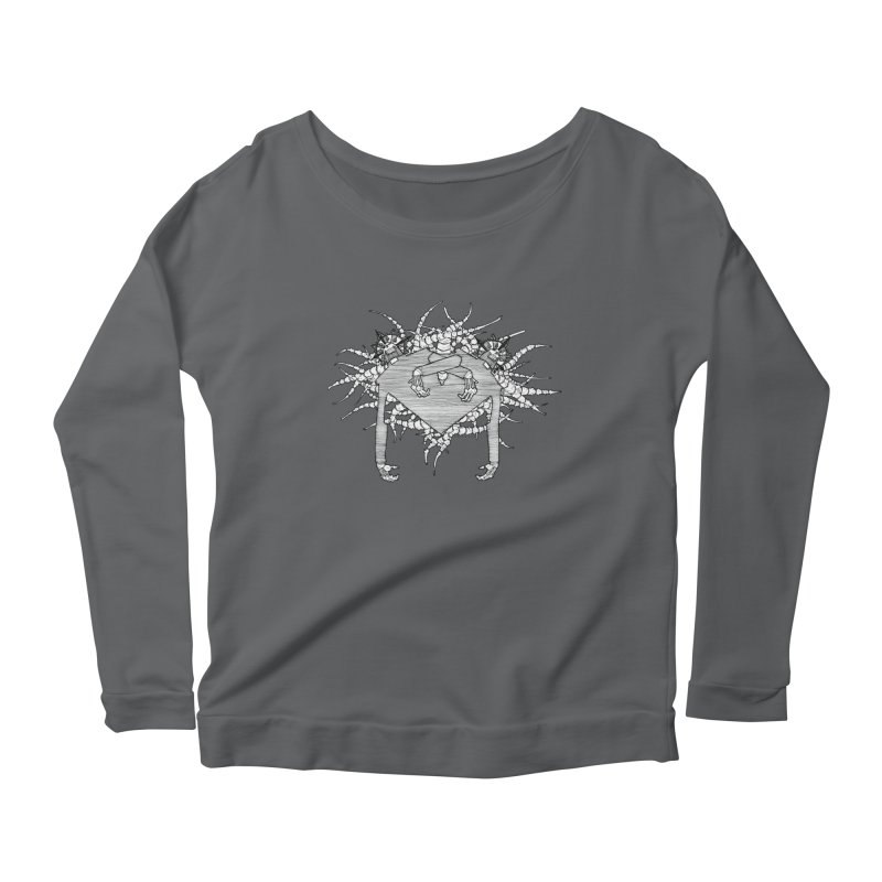 Rorschach Women's Longsleeve T-Shirt by Katiecrimespree's Ye Olde Shirt Shoppe
