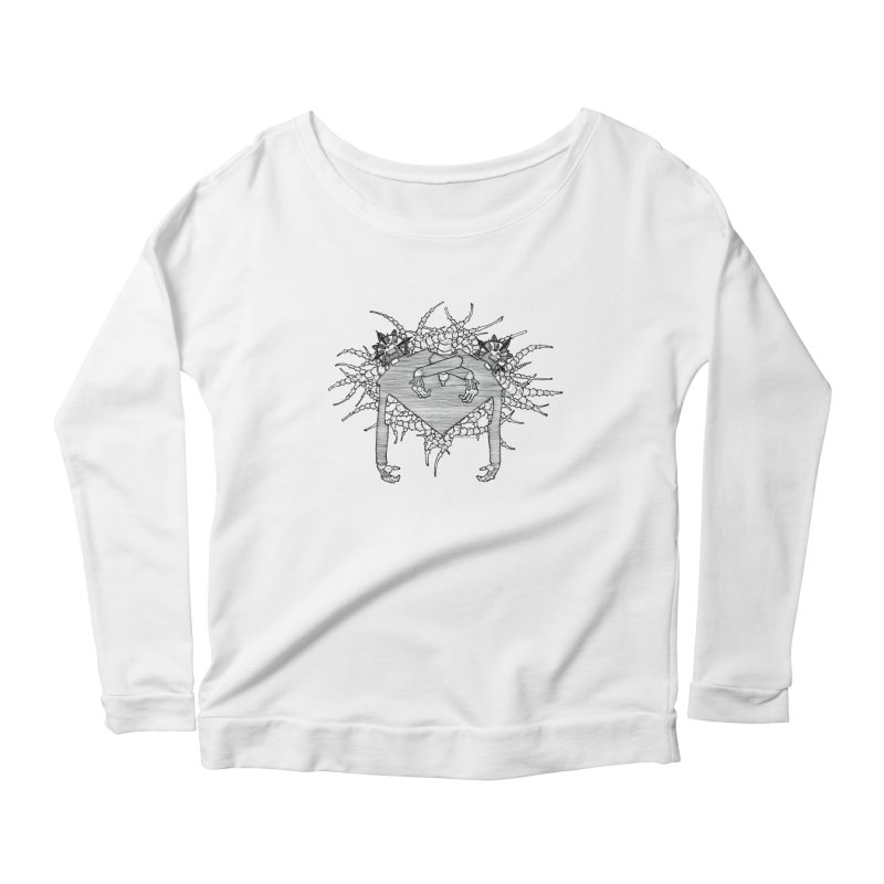 Rorschach Women's Scoop Neck Longsleeve T-Shirt by Katiecrimespree's Ye Olde Shirt Shoppe